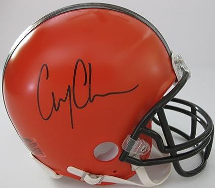 Corey Coleman Autographed Cleveland Browns Custom Brown Football Jersey JSA COA