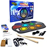 Rock And Roll It - CodeDrum. Flexible Roll Up Color Coded Electric Drum Kit, Easy Learning & Play for Beginners! Portable, Dr