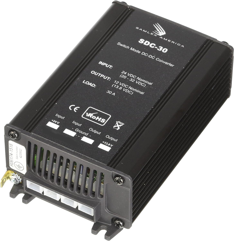 SDC-12 Samlex America 20-32VDC to 12VDC  Converter at 12 Amps