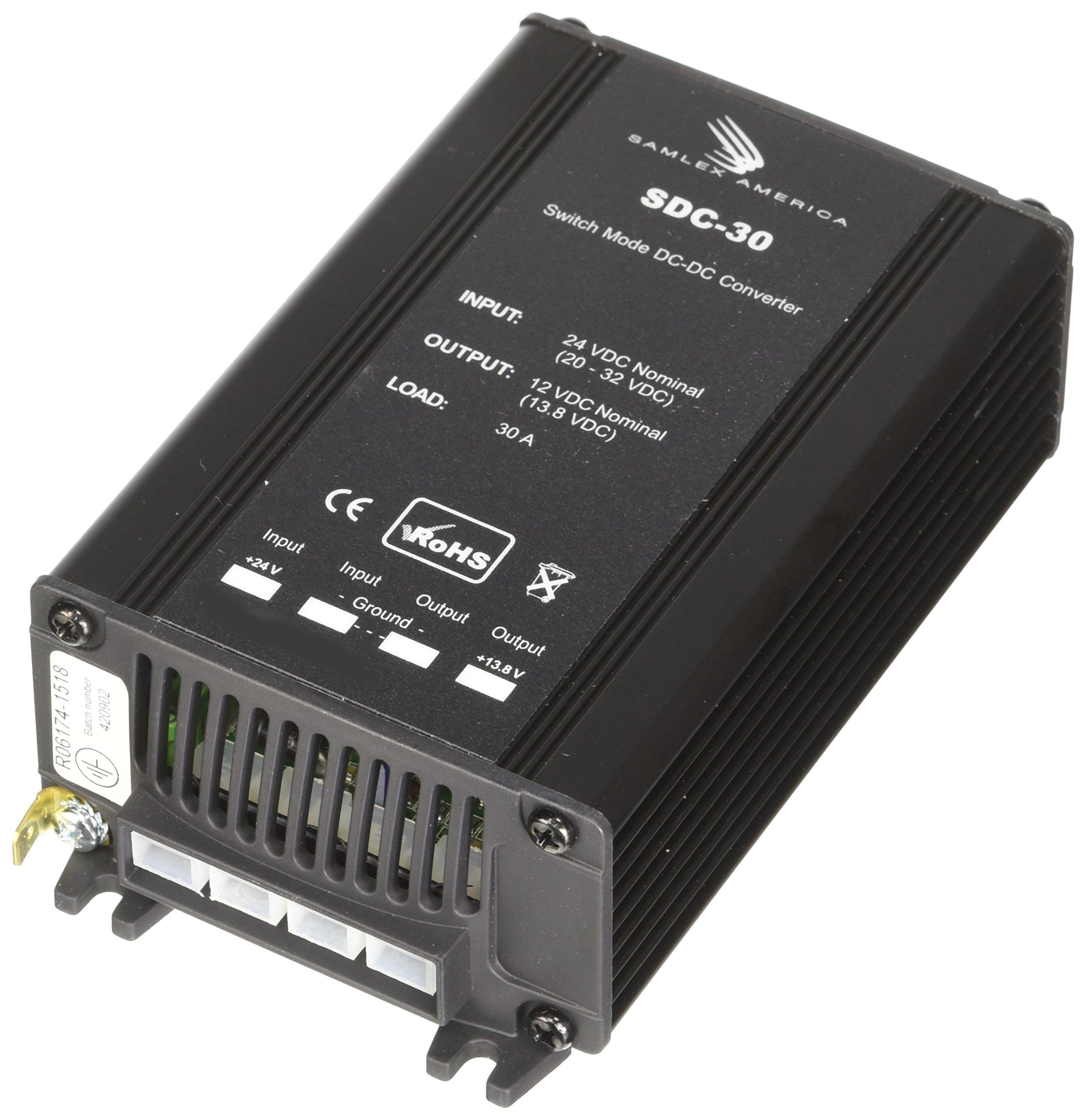 Samlex America (SDC30) 30 Amp DC Converter by Samlex America