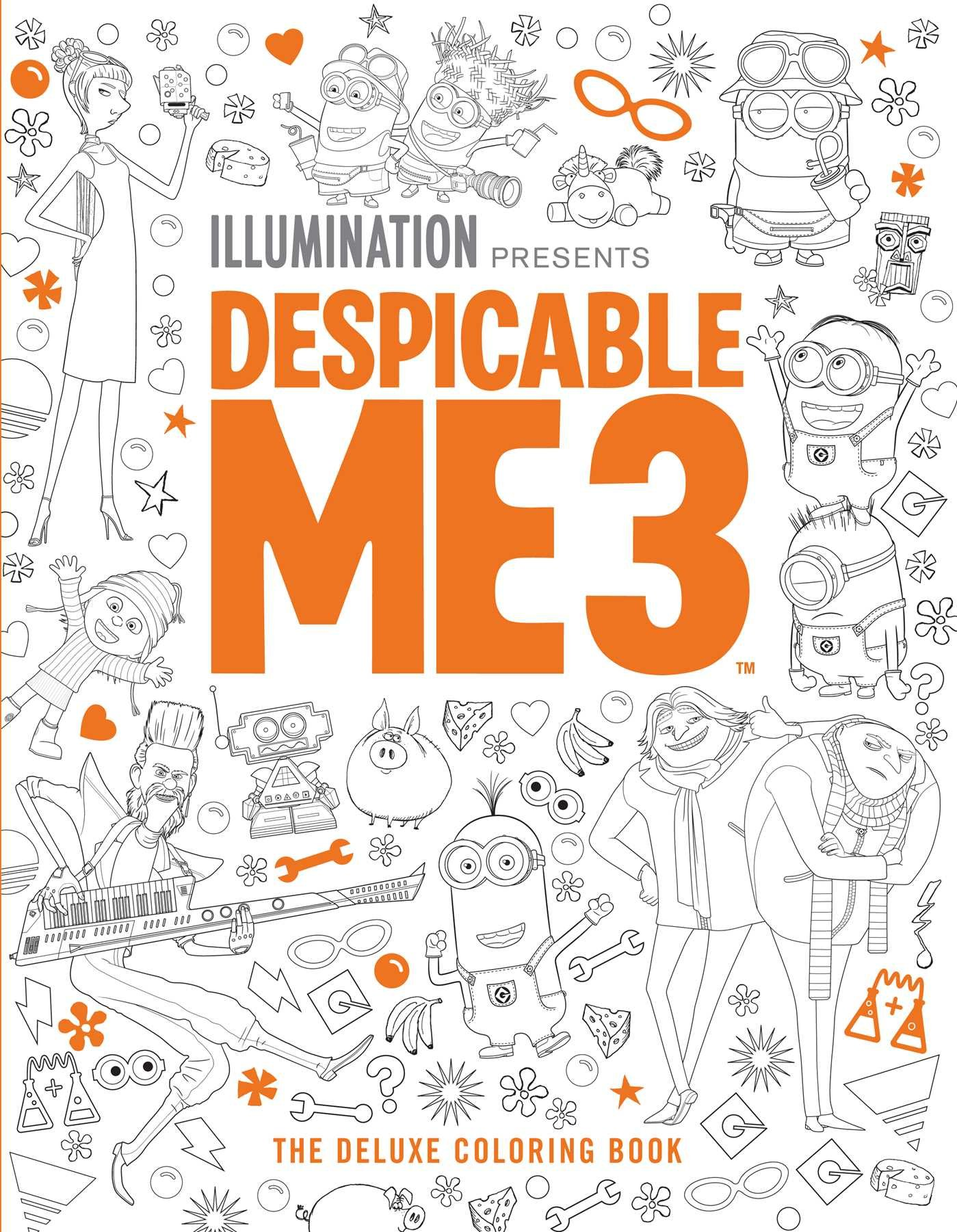 Amazon Despicable Me 3 The Deluxe Coloring Book 9781683830801 Insight Editions Books