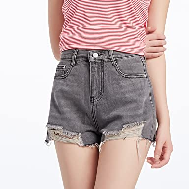 34cd810e2835 Image Unavailable. Image not available for. Color  Denim Shorts Female  Summer ...