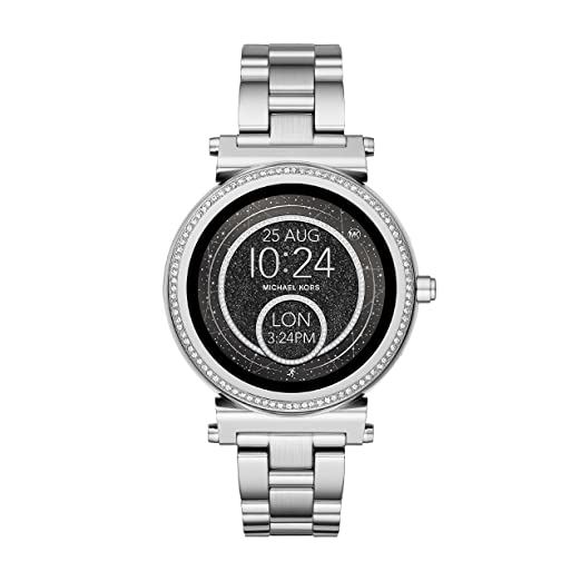 b2f77cee6624 Image Unavailable. Image not available for. Colour  Michael Kors Women s  Smartwatch Sofie MKT5020