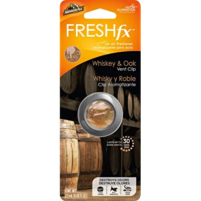 Armor All 18947 Freshfx Whiskey & Oak Car Air Freshener and Purifier - Odor Eliminator for Cars & Truck: Automotive