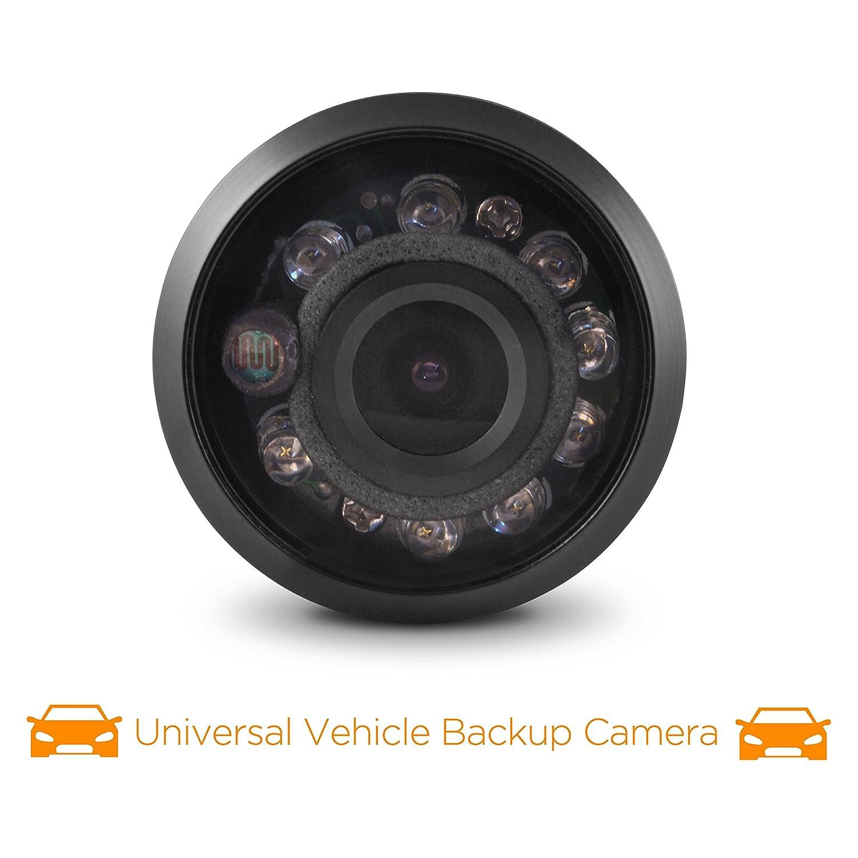 XO Vision Universal Vehicle Backup Camera with Night Vision and 120-degree Angle