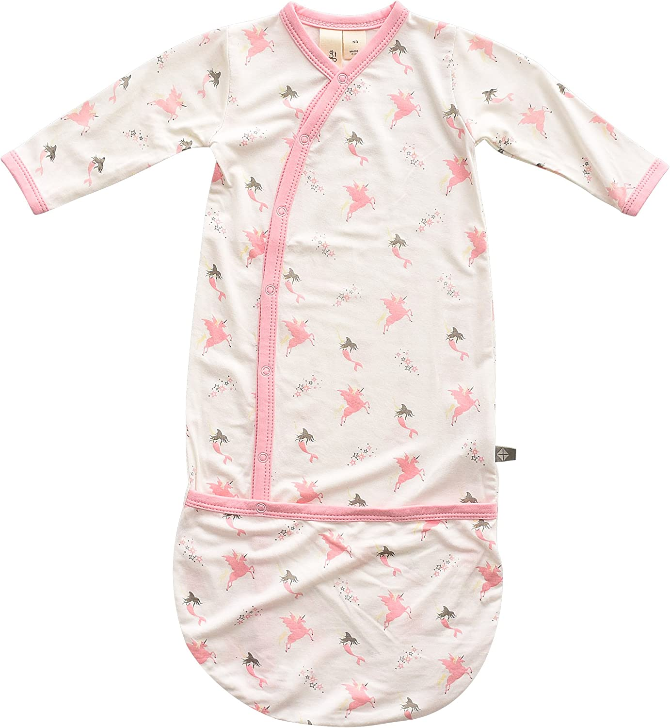 KYTE BABY Bundlers Unisex Baby Sleeper Gowns Made of Soft Bamboo Rayon Material