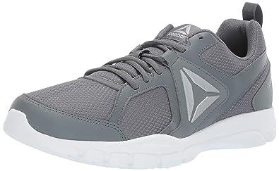 b1937f36e442 Reebok Men s 3D Fusion TR Cross Trainer Alloy White Silver True Grey 6.5