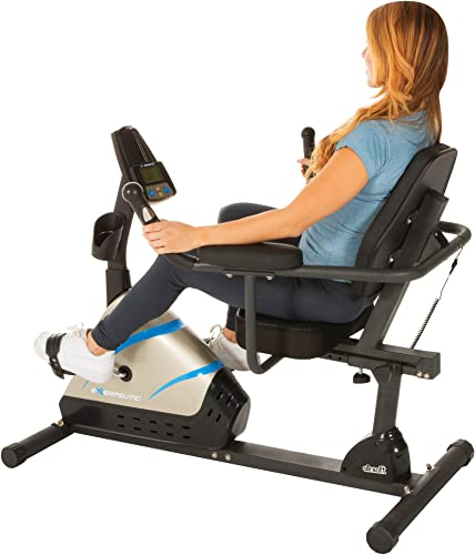 Exerpeutic 2000 High-Capacity Programmable Magnetic Recumbent Bike