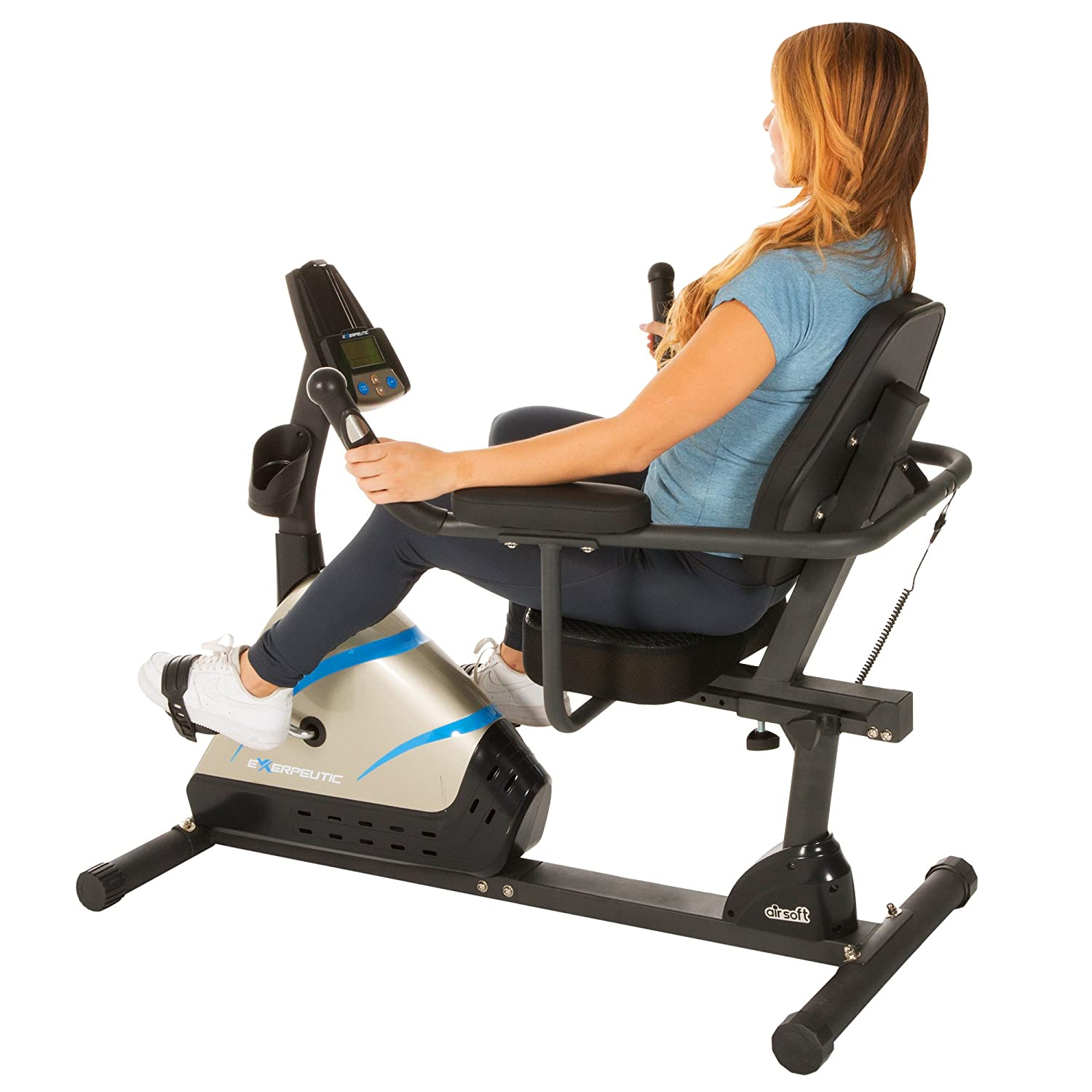 Exerpeutic 2000 High Capacity Programmable Magnetic Recumbent Bike review in 2016