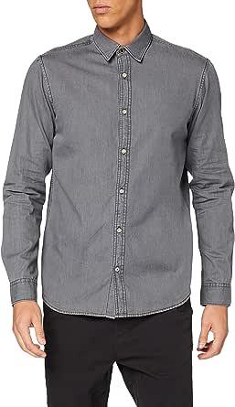 Jack & Jones Jorharold Shirt LS Camisa para Hombre