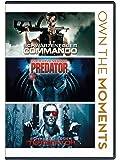 Own the Moments - 3 Movies Collection: Commando + Predator + The Terminator
