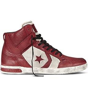 designer converse john varvatos mji1  Converse John Varvatos Weapon Lace Up Mid Men's Shoes