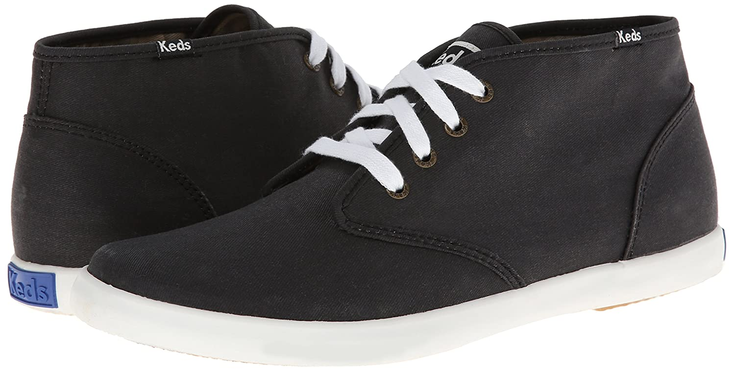 b83538b32dd Keds Men s Champion Chukka Black Ankle-High Canvas Fashion Sneaker - 8.5M   Buy Online at Low Prices in India - Amazon.in
