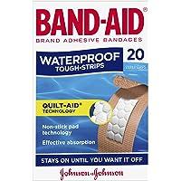 Band-Aid Tough Strips Waterproof Regular 20