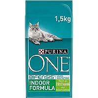 Purina One BIFENSIS Indoor Formula kattendroog voering: rijk aan kalkoen en granen, rijk aan ballaststof voor katten…