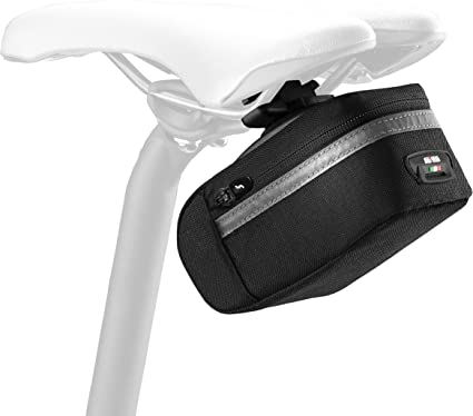Scicon Elan 210 RL Saddle Bag White