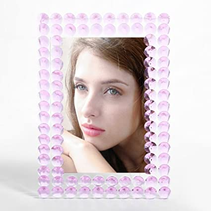 Amazon.com - Pedobo 4x6 inch Picture Frames Made of Crystal Glass ...
