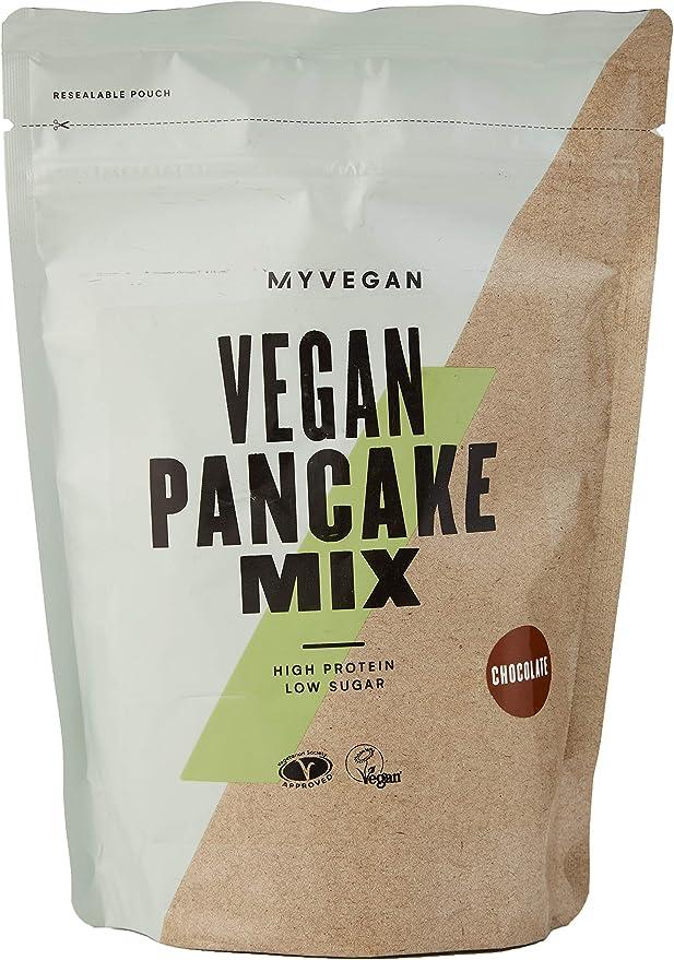 MyProtein Vegan Protein Pancake Mix, 500 g: Amazon.co.uk: Health & Personal Care