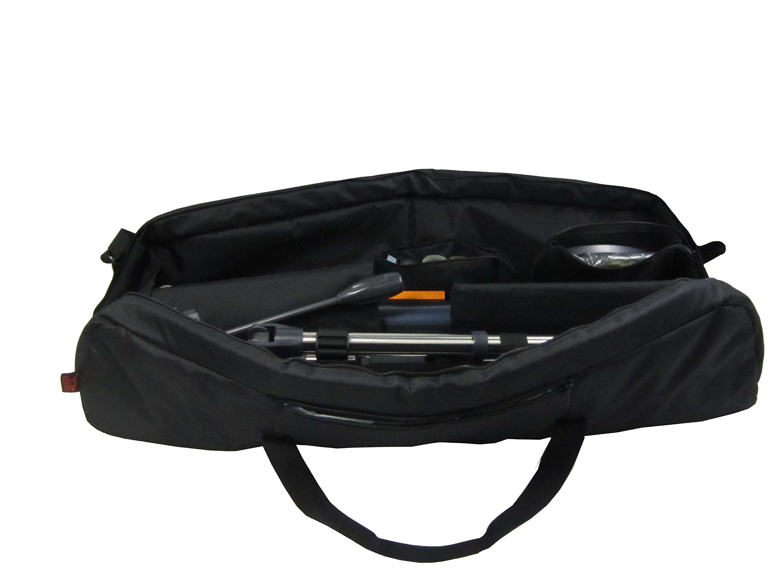 Kuool Camera Protective and Padded Telescope Carry Case - 37.7'' L X 9.8'' w X 9'' H, Cam Bag