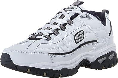 Skechers Men/'s Energy After Burn Low Top Sneaker Shoes White Footwear Casual