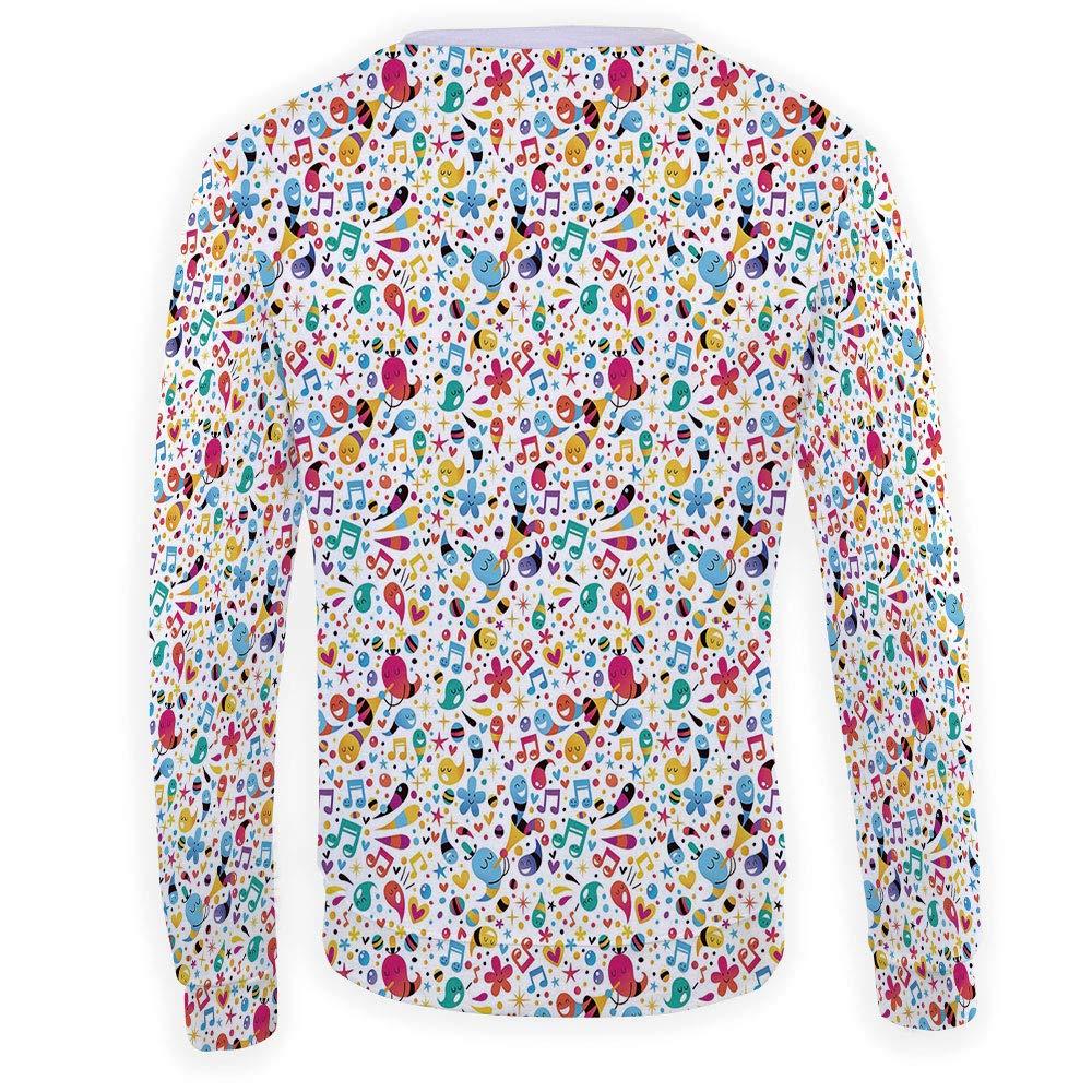 MOOCOM Adult Mushroom Crewneck Sweatshirt