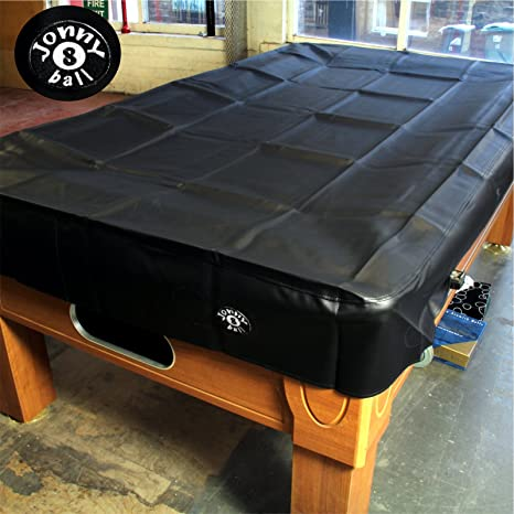 Jonny 8 Ball Heavy Duty Water Resistant Pool Table Cover-6FT Black ...