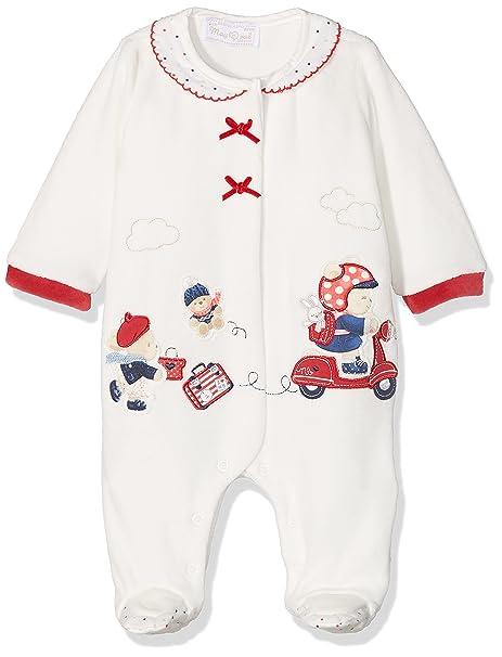 Mayoral 2743 Pijama Punto tundosado Lacito, Bebés, Red, 0M-1M
