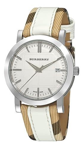 99120d063c94 Burberry Reloj de Cuarzo Bu1379  Amazon.es  Relojes