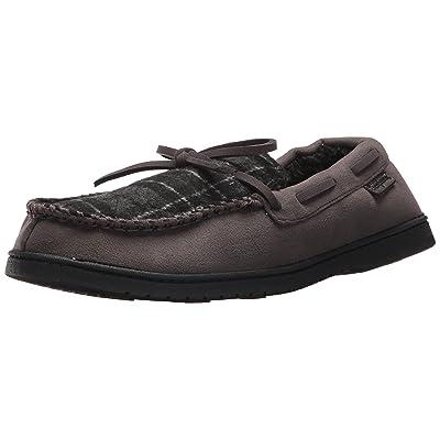 Dearfoams Men's MFS Moc W Tie & Wipstitch | Slippers