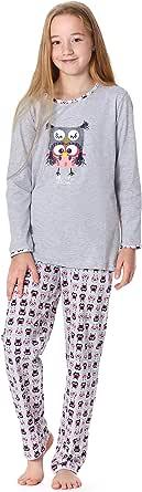 Timone Pijama Conjunto Camisetas y Pantalones Vestidos de Cama Niña Adolescente TITR210