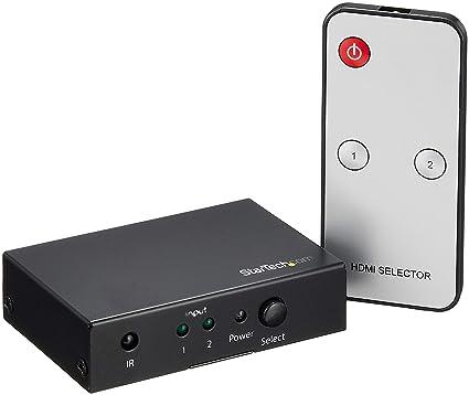 Buy Startech VS221HD20StarTech com 2 Port HDMI Switch - 4K