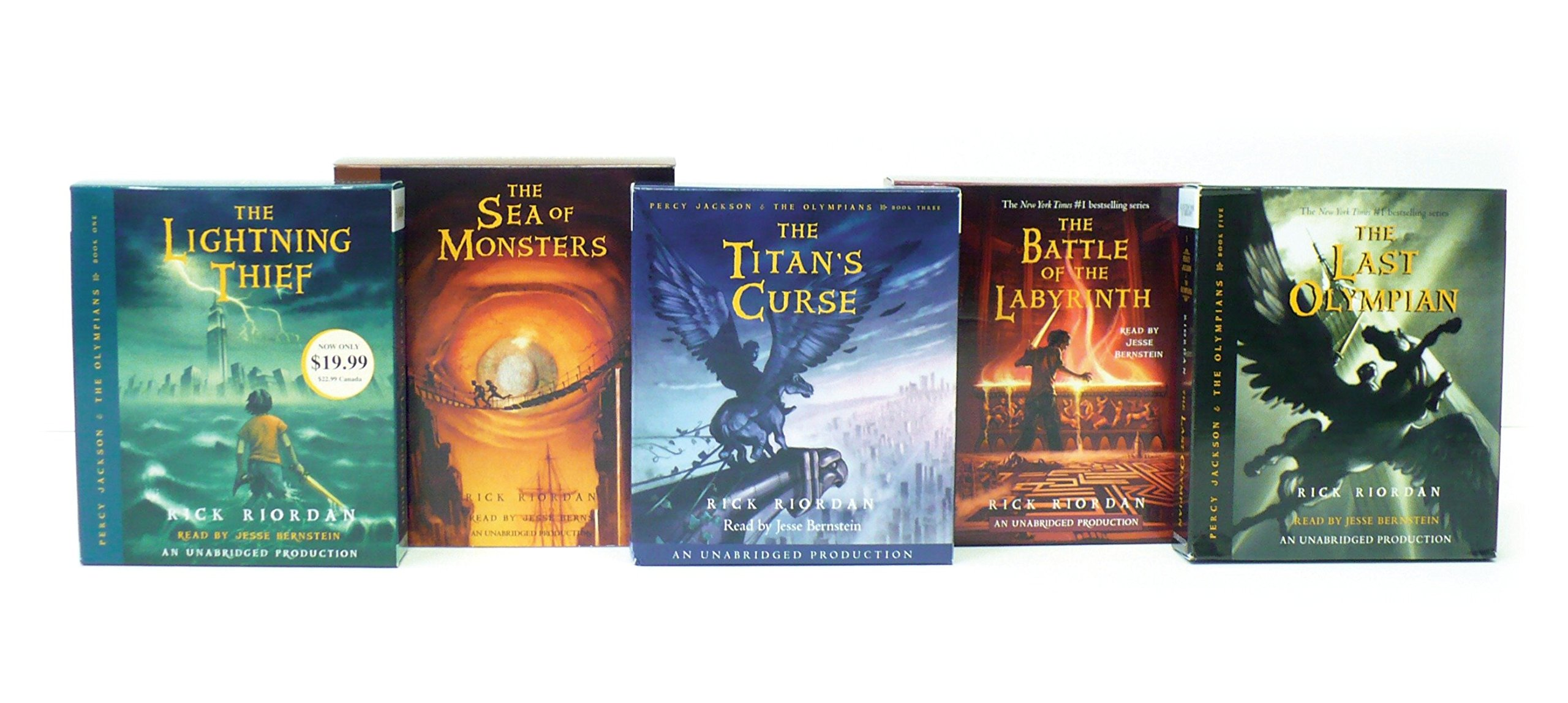 Percy Jackson and the Olympians Books 1-5 CD Collection: Amazon.es: Rick  Riordan: Libros en idiomas extranjeros