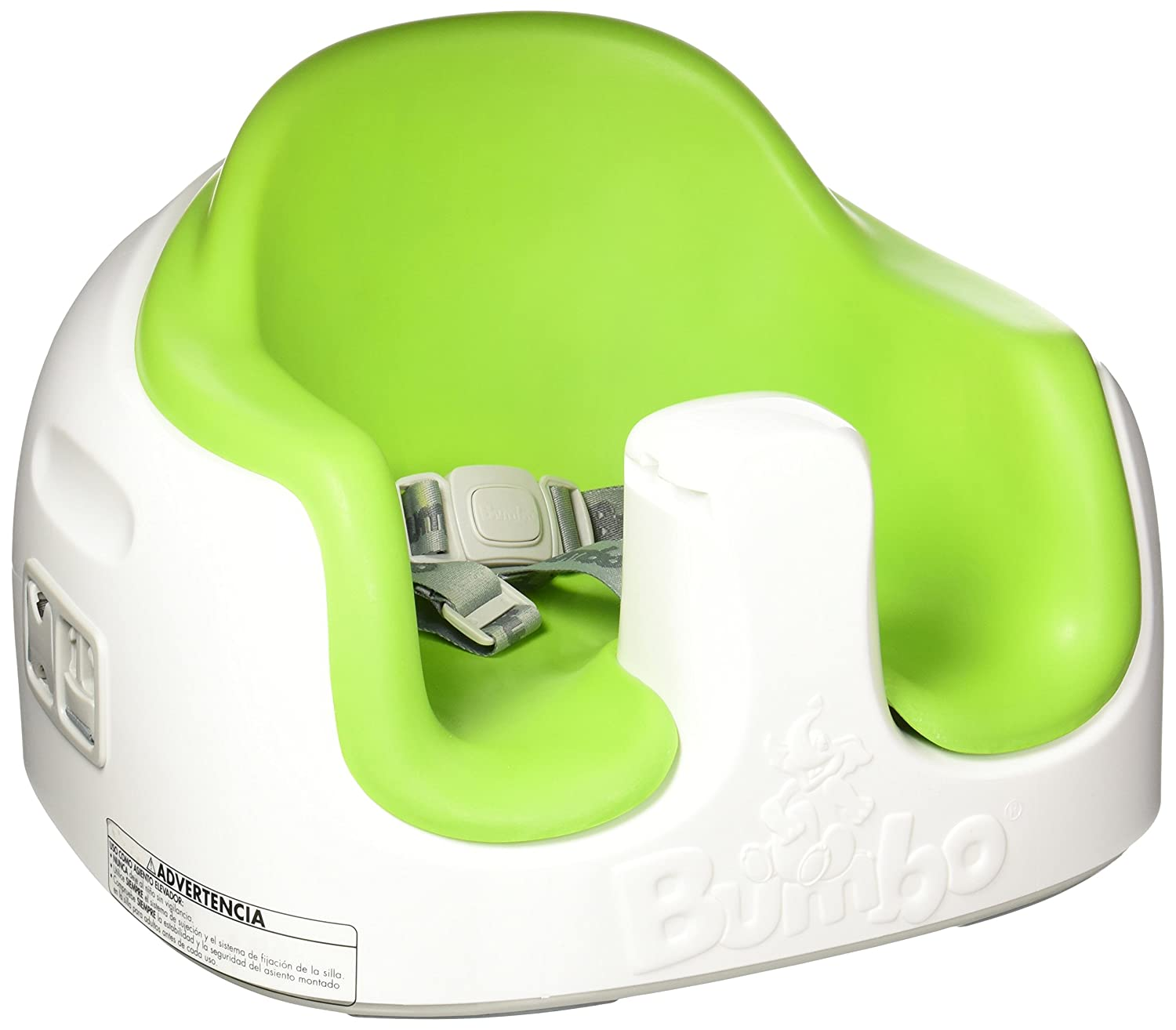 Bumboo B11100 Baby Toddler Adjustable Height 3-in-1 Non-Slip Multi Seat with Food/Activity Tray and Safety Straps, Lime Green