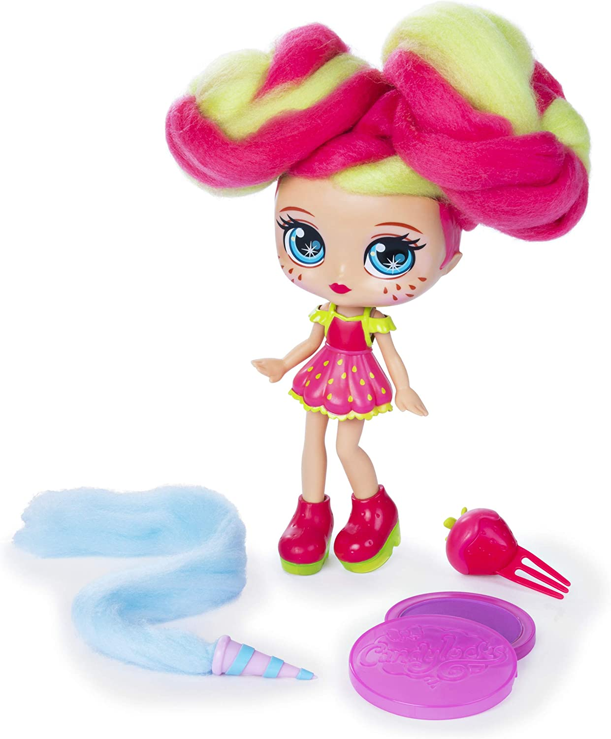 Candylocks 7-Inch Straw Mary, Sugar Style Deluxe Scented Collectible Doll with Accessories