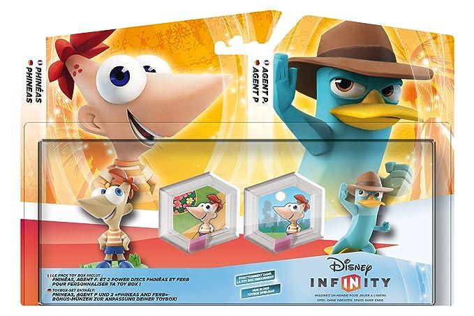 Pack Toy Box Disney Infinity Phineas Et Ferb Amazonfr Jeux Vidéo
