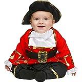 My Other Me Me-203827 Disfraz de pequeño corsario para niño 1-2 años Viving Costumes 203827