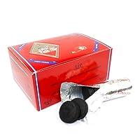three kings 33mm quick lighting charcoal for hookah shisha (quantity 100 briquettes)