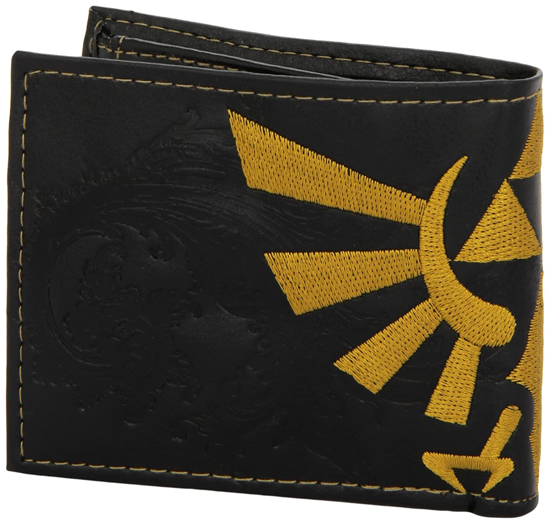9828bdc1a30c Zelda Bird Logo Embossed Bifold Wallet  Amazon.co.uk  PC   Video Games