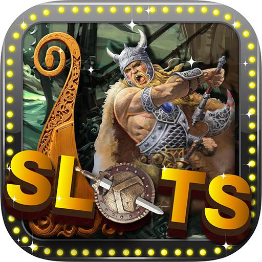 ACE Ancient Viking Slot Machines -  Scandinavian Celtic Ocean Warrior Warship Casino Game