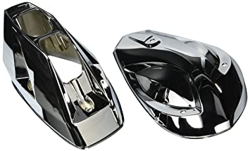 Can Am Spyder Rt Touring Chrome Lower Wind Deflectors 219400290 Canam Roadster