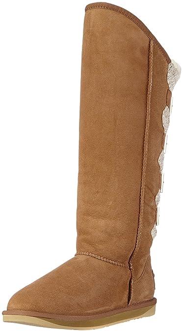 5d02f4ec5c Amazon.com   Australia Luxe Collective Women's Spartan Wax Knit Extra Tall  Chestnut 37 Euro   Boots