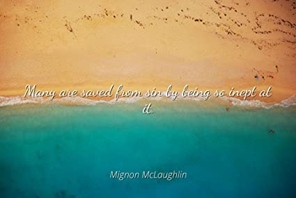 Amazoncom Home Comforts Mignon Mclaughlin Famous Quotes