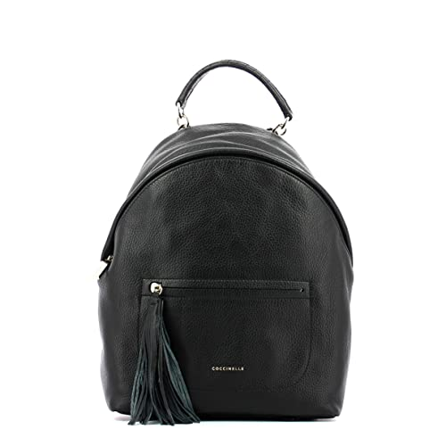 926aa0e9b3 Coccinelle ZAINO LEONIE LARGE BACKPACK E1CN0140101 001 NERO: Amazon ...