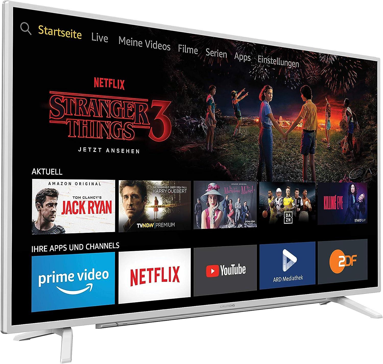 Grundig Vision 6 Fire Tv 80 Cm Fernseher Weiß Elektronik