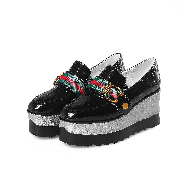noir noir QIN&X Femme Talon Talons Chaussures de Plate-Forme  connotation de luxe discret