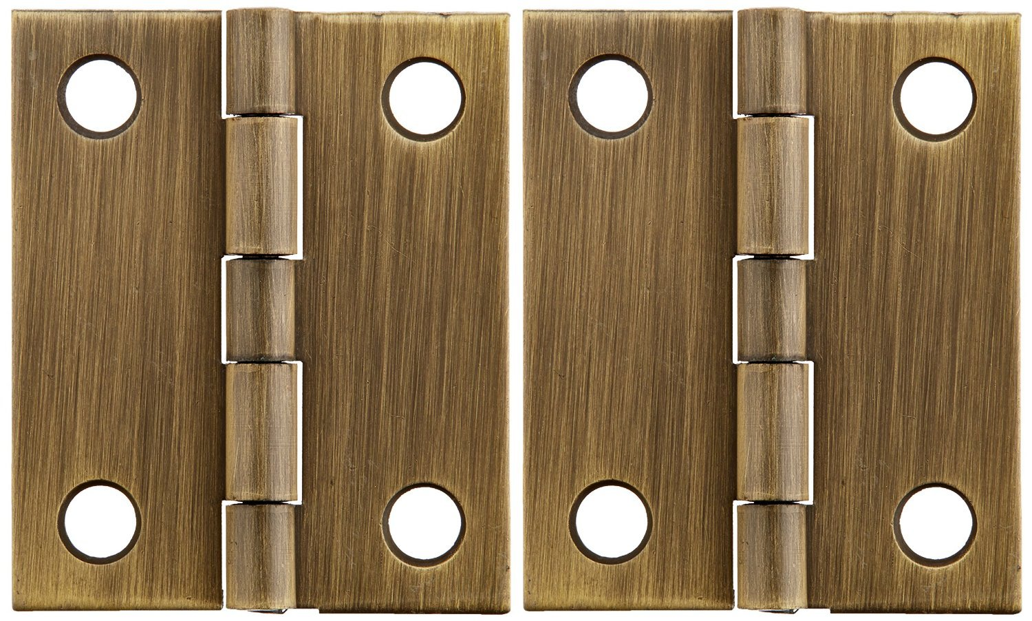 National N211-185 Antique Brass Hinge 1''x3/4'' (Pack of 5)