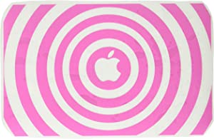 The Decal Guru 2048-MAC-11A-BG Music Waves MacBook Decal Vinyl Sticker - 11