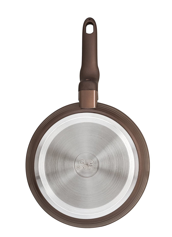 Quid Forja Wave - Sartén de aluminio forjado de inducción, de 18 cm: Amazon.es: Hogar