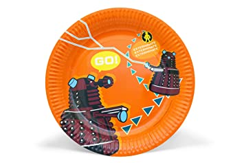 Doctor Who Partyware Paper Plates (Pack of 6)  sc 1 st  Amazon.com & Amazon.com: Doctor Who Partyware Paper Plates (Pack of 6): Kitchen ...