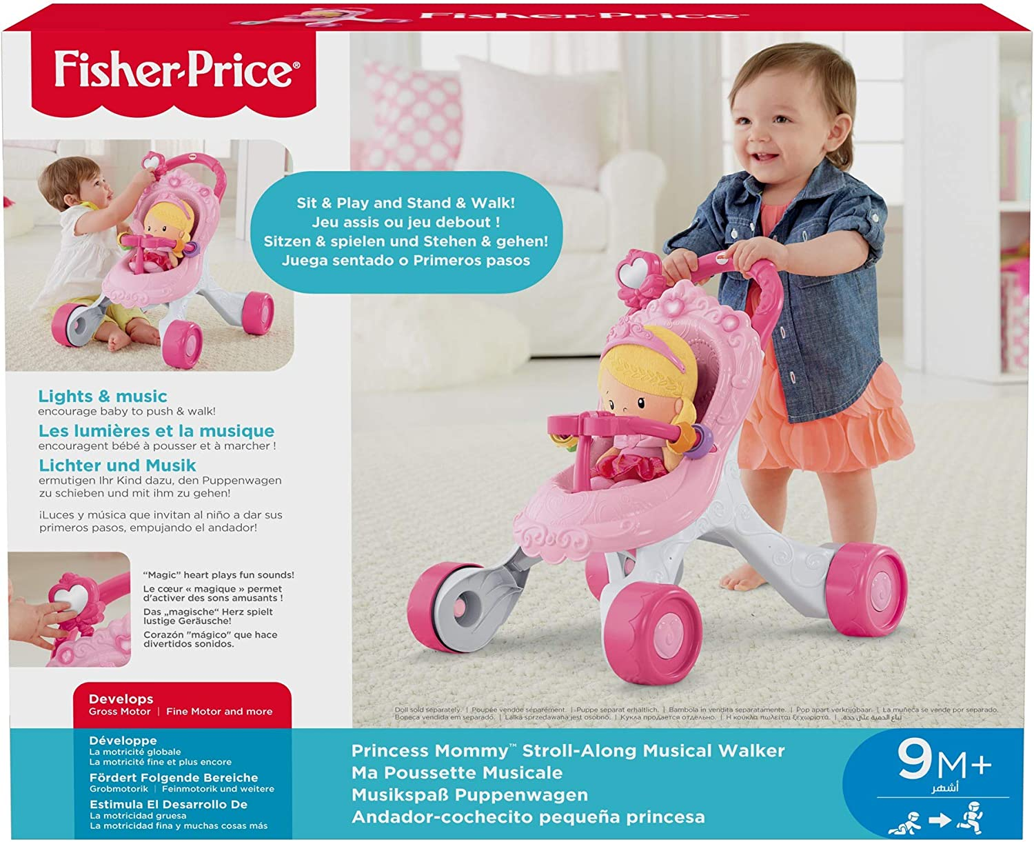 Amazon.com: Andador musical Fisher-Price: Toys & Games